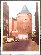 Riga Powder Tower, Old Town. USSR Postcard 1955 With Stamp - Latvia