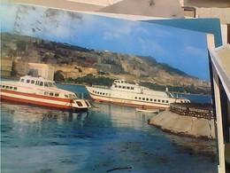 NAVE SHIP TRAGHETTO ALISCAFO FRECCIA D'ORO ALISCAFI IN RADA DI MERGELLINA  VB1979 HA7315 - Napoli