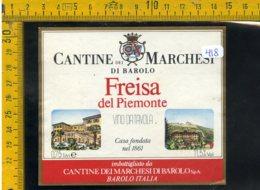 Etichetta Vino Liquore Freisa Del Piemonte  Barolo - Etichette
