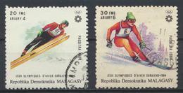 °°° MADAGASCAR - Y&T N°698/99 - 1984 °°° - Madagascar (1960-...)