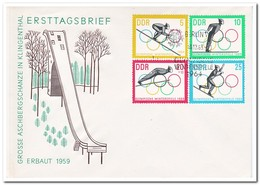 DDR 1963, FDC, Olympic Wintergames - FDC: Enveloppes
