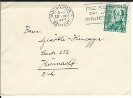 SBK J81, Mi 314 Winterthur 1 - Briefe U. Dokumente