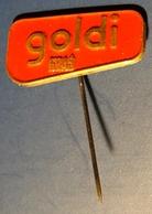 Neapolitan Wafer / KRAS Zagreb Cratia Candy Industry - Pin Badge Pin -  Yugoslavia - 1980's - Food