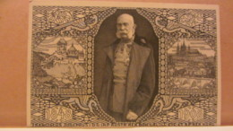 Österreich GA 5 Heller Jubiläums-Ausstellung Prag 1908  (Zweisprachig) 1848 - 1908 Ungebraucht Mit Bild Franz Joseph - Interi Postali