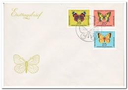 DDR 1964, FDC, Butterflies - [6] Oost-Duitsland