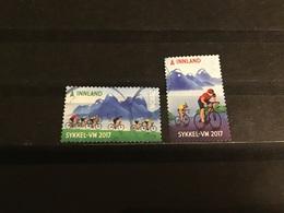 Noorwegen / Norway - Complete Set WK Wielrennen 2017 - Oblitérés