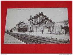 TREIGNES     - VIROINVAL -  La Gare   - (reproduction) - Viroinval