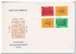DDR 1964, FDC, Leipzig Spring Fair ( Envelope Has A Fold ) - [6] Oost-Duitsland