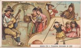 Chromo  Portugal  Tapioca De L' étoile Médaille D'or à Exposition Universelle De 1889 Paris - Autres