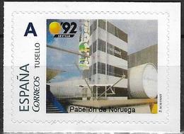 ESPAÑA. TUSELLO. EXPO'92 SEVILLA. PABELLON DE NICARAGUA - 1931-Hoy: 2ª República - ... Juan Carlos I