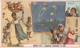 Chromo  Brésil   Tapioca De L' étoile Médaille D'or à Exposition Universelle De 1889 Paris ( Feu D'artifice ) - Autres