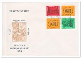 DDR 1964, FDC, Leipzig Spring Fair - FDC: Enveloppes