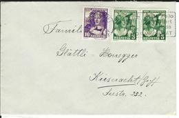 SBK 2xJ65, J66, Mi 2x266, 267 Winterthur 1 - Briefe U. Dokumente