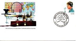 AUSTRALIE. Entier Postal Avec Oblitération 1er Jour De 1985. Radio. - Telecom
