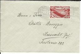 SBK J59, Mi 248 Winterthur 1 - Briefe U. Dokumente