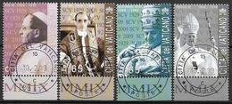 2009 Vatikan Mi. 1629-35 FD- Used  80 Jahre Vatikanstadt - Vatican