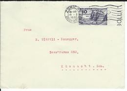 SBK J58, Mi 247  Zürich 1 - Briefe U. Dokumente