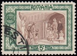 ROMANIA - Scott #B18 Guardian Angel / Used Stamp - 1881-1918: Charles I
