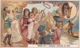 Chromo  Pologne   Tapioca De L' étoile Médaille D'or à Exposition Universelle De 1889 Paris ( Jeux ) - Autres