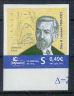 Deutschland Citykurier 'Dr. Otto Richard Lummer' / Germany 'Dr. Otto Richard Lummer' **/MNH 2010 - Physics