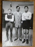 CPM - BOXEUR - L'équipe The Team - Leroux - Boxing
