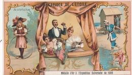 Chromo AUTRICHE Tapioca De L' étoile Médaille D'or à Exposition Universelle De 1889 Paris Jeu Du Cerceau Opéra Baignade - Autres