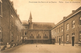 Velm ( St-Truiden ) : Pensionnat Des Soeurs De La Charité  --- Cour De Récréation - Sint-Truiden