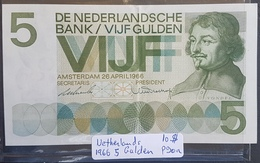 EBN1 - Netherlands 1966 Banknote 5 Gulden Pick #90a - [2] 1815-… : Koninkrijk Der Verenigde Nederlanden