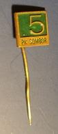 PK SOMBOR Agricultural Food Industry - Pin Badge Pin -  Yugoslavia Serbia Sombor - 1980's - Food