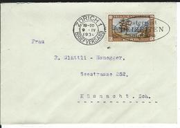 SBK 2xJ49, J50, Mi 2x235, 236 Zürich 1 - Briefe U. Dokumente