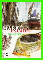 ARTS PEINTURES - SERGE MARKO, PEINTRE OFFICIEL DE LA MARINE - ESCALES,  EXPOSITION, PLACE MONSENERGUE, 2000 - - Peintures & Tableaux