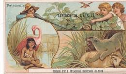 Chromo PATAGONIE Tapioca De L' étoile Médaille D'or à Exposition Universelle De 1889 Paris Chasse / Nid D'oiseau - Autres