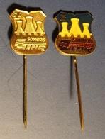 ZEFIR -  Textile Industry - Pin Badge Pin -  Yugoslavia Serbia Sombor - 1980's - Trademarks