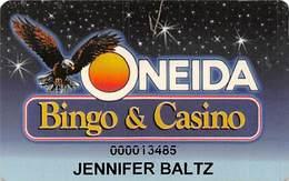 Oneida Bingo & Casino Green Bay, WI - Slot Card - Casino Cards