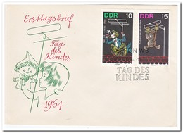 DDR 1964, FDC, Day Of The Child - FDC: Enveloppes