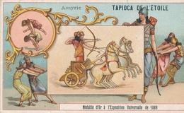 Chromo ASSYRIE Tapioca De L' étoile Médaille D'or à Exposition Universelle De 1889 Paris Saute Mouton - Autres