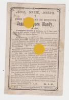 Abbé Jean Jacques Hardy DALHEM 1804 - 1883 + Vicaire à Hannut & Curé à Vivegnis , Herstal Puis Dalhem - Décès