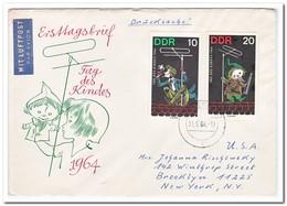 DDR 1964, FDC, Day Of The Child - [6] Democratic Republic