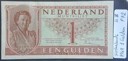 EBN1 - Netherlands 1949 Banknote 1 Gulden - [2] 1815-… : Kingdom Of The Netherlands