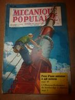1951 MÉCANIQUE POPULAIRE: Je Construis Ma Maison En Contre-plaqué (5e Part);Auto A Pédales;Solution Bateau A Voile; Etc - Sciences & Technique