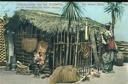 Fétiche ? Marabout ?  Prêtre Devant Son Habitation Exposition à Strasbourg Des Basler Mission - Cartes Postales