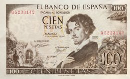Spain 100 Pesetas, P-150 (19.11.1965) - UNC - [ 3] 1936-1975: Franco