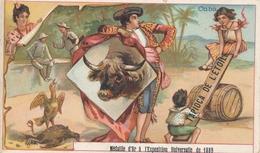 Chromo CUBA Tapioca De L' étoile Médaille D'or à Exposition Universelle De 1889 Paris Toréador Combat De Coq - Autres