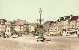 St-Trond / St-Truiden : Grote Markt ( Oude Kleurkaart) - Sint-Truiden