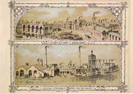 Yorkshire;Naylor Vickers River Don Works. Office & Works. Bridge St. Sheffield. Colour Postcard - Sheffield