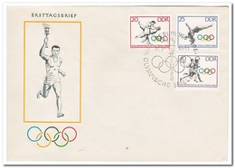 DDR 1964, FDC, Olympic Games - FDC: Enveloppes