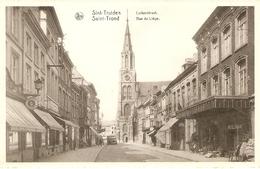 St-Trond / St-Truiden : Luikerstraat Met Winkels - Sint-Truiden