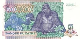 ZAIRE P. 40a 50000 Z 1991 UNC - Zaïre