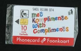 Telcom Phonecard - Met Komplimente With Compliments - Zuid-Afrika