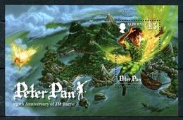 Alderney MiNr. Block 27 Postfrisch MNH Peter Pan, Comic (J2677 - Alderney